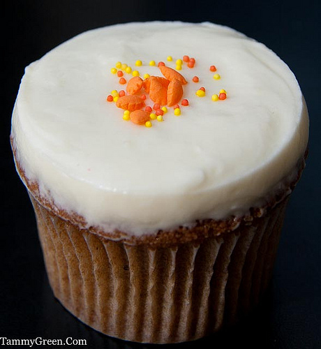 Carrot Cake Cupcake | The Cupcake Counter | Photo Courtesy of Tammy Green