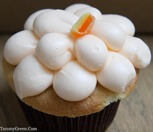Fuzzy Navel Cupcake | Sugar Bliss | Photo Courtesy of Tammy Green