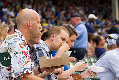 Eat at Wrigley Field | Photo courtesy of Tammy Green