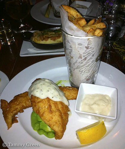 Fish & Chips | Owen & Engine | photo courtesy of Tammy Green