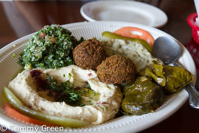 Vegetarian Plate | Semiramis | Photo courtesy of Tammy Green